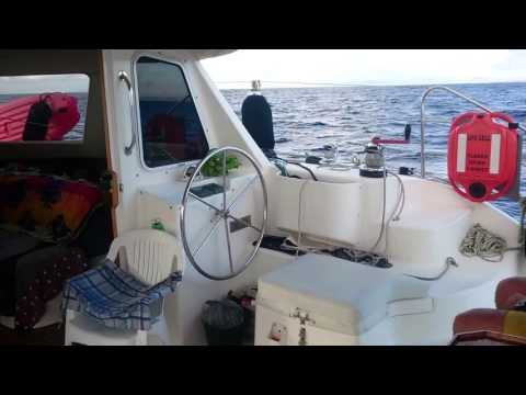Camelot, Seawind leaving qld sailing to Ballina