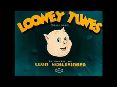 Looney Tunes and Merrie Melodies -  My Colorized Opening Titles (1930 - 1943)
