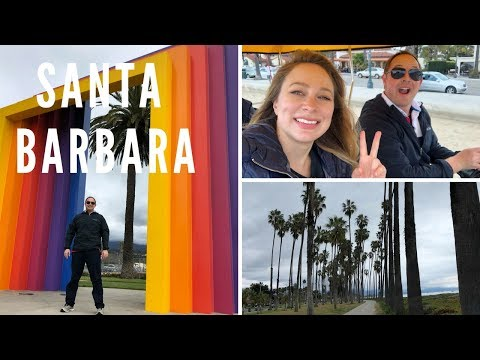 WEEKEND in SANTA BARBARA - TOP 10 THINGS TO SEE and DO - VLOG (2018)