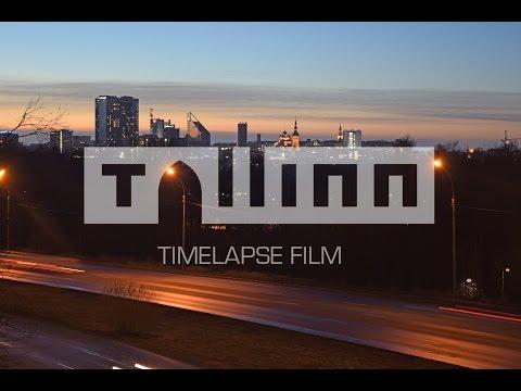VC Timelapse # Tallinn Timelapse film 4K