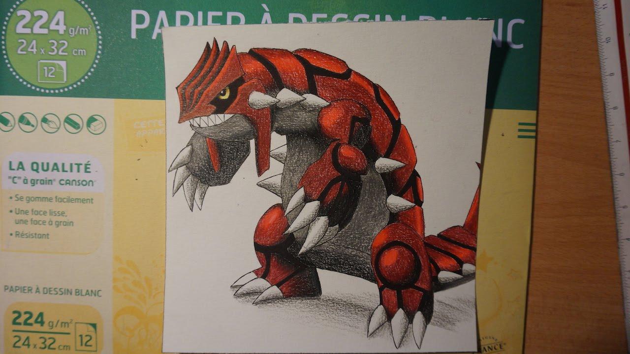 Dessin De Groudon Drawing Groudon