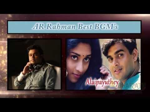 AR Rahman Best BGM's Forever | Bharath Creations