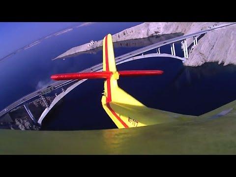 Zadar, Croatia / Pag Bridge onboard