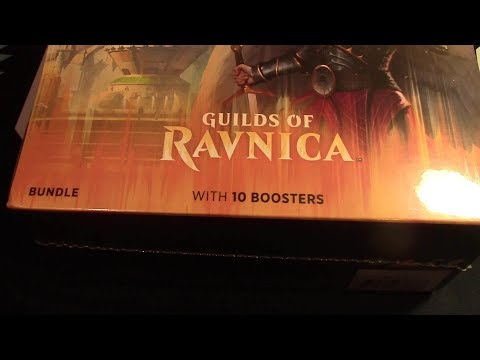 Guilds of Ravnica Bundle! 10 Boosters opened! Ahh the Craziness! MTG