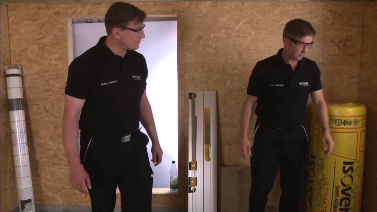 Holzrahmenbau Decke Dammen Isover Live Web Tv Fur