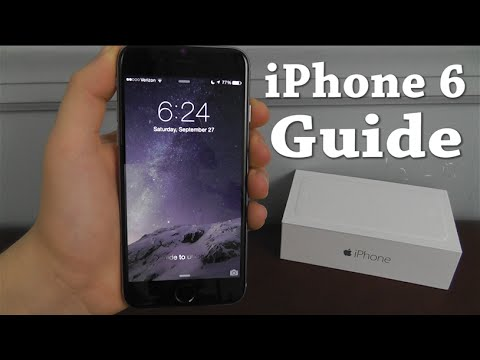 iPhone 6 – Complete Beginners Guide - YouTube