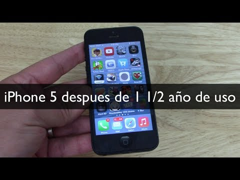 youtube iphone 6 el iphone 5 despu 233 s de 1 a 241 o y medio de uso 13335