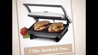Nova Panini Grill Sandwich 2 slice