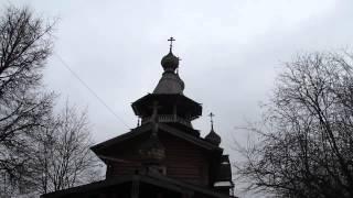 Колокольный звон(Деревянный храм св. Великомученика Георгия Победоносца в Коптево (Москва), 2014-02-15T19:41:05.000Z)