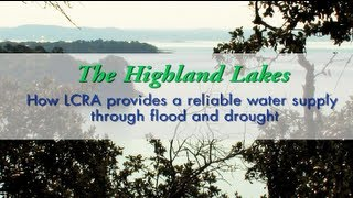 Flood and drought operations on Central Texas' Highland Lakes