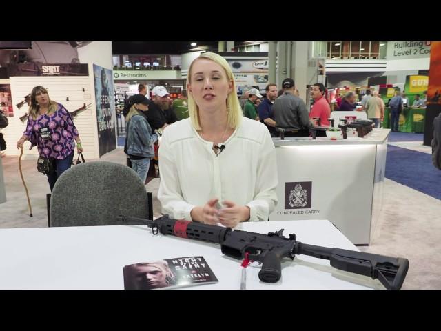 NRAAM 2017: Springfield Armory Night of the SAINT Winner Katelyn