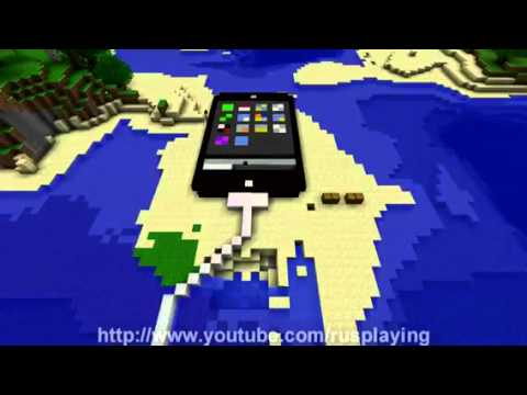 Minecraft ipod touch construction iphone acc l r e youtube - Minecraft guide de construction ...