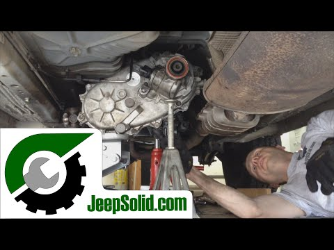 Jeep Cherokee 249 transfer case swap: How to remove transfer case
