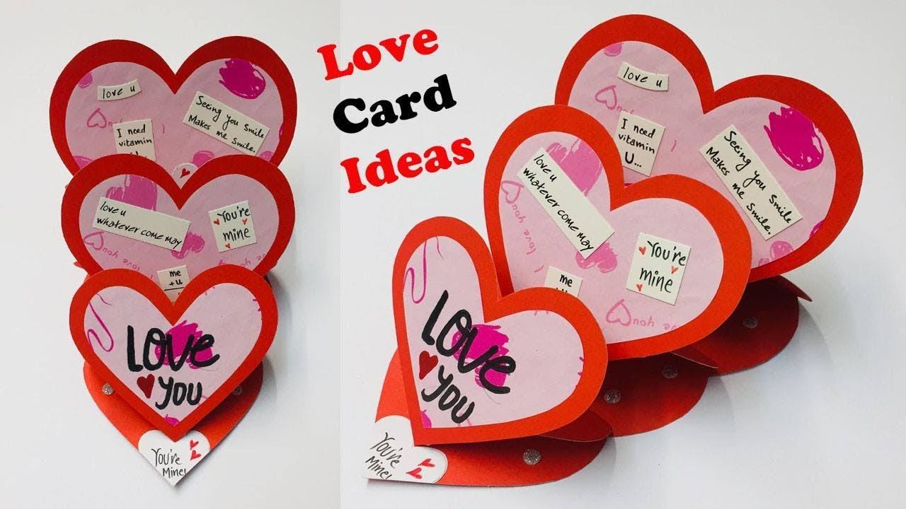 Love Greeting Card  Greeting Cards Latest Design Handmade  I Love You  Card Ideas 5  #5
