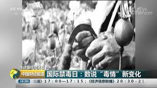 """[中国财经报道]关注国际禁毒日 国际禁毒日:数说""""毒情""""新变化 CCTV财经"""