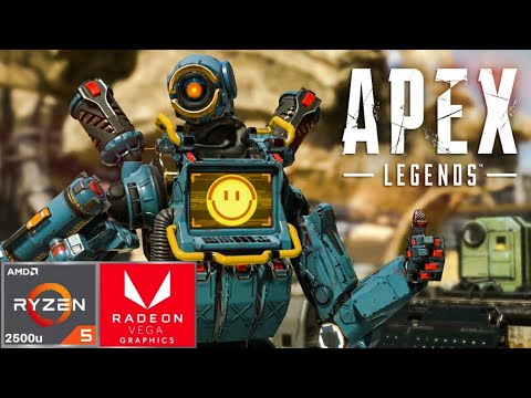 Apex Legends Ryzen 5 2500u Vega 8 45w Testing (+1 to 6 fps without  recording)