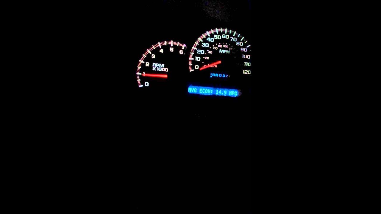 05 Sierra Headlights And Dash Lights Pulsing