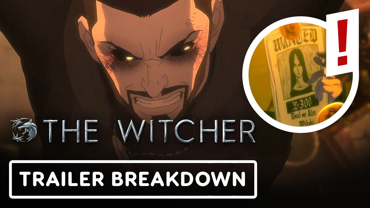 Download The Witcher: Nightmare of the Wolf Anime Trailer Breakdown