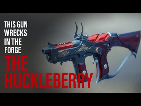 This Forge Exotic Will Surprise You! Huckleberry Exotic SMG - Black Armory Destiny 2 thumbnail