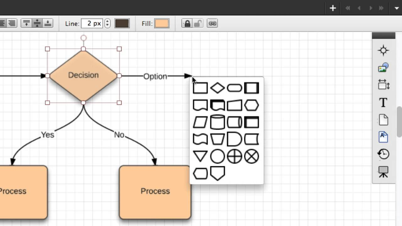 Draw Lines Lucidchart Youtube How To A Use Case Diagram In Uml