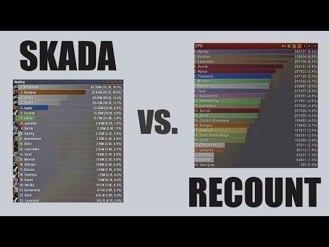 Skada vs Recount (WoW Meters) Comparison - YouTube
