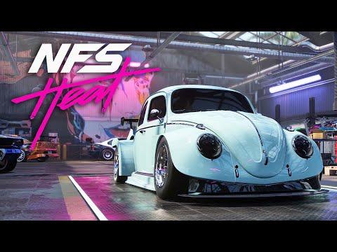 VW BEETLE BUILD & ENGINE SWAP - NEED FOR SPEED HEAT Gameplay Walkthrough Part 16 (Full Game)