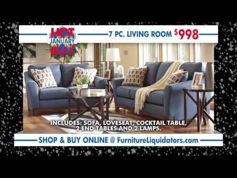 Furniture Liquidators January Hot Buys