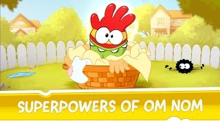 Cut the Rope: Experiments -- Superpowers of Om Nom