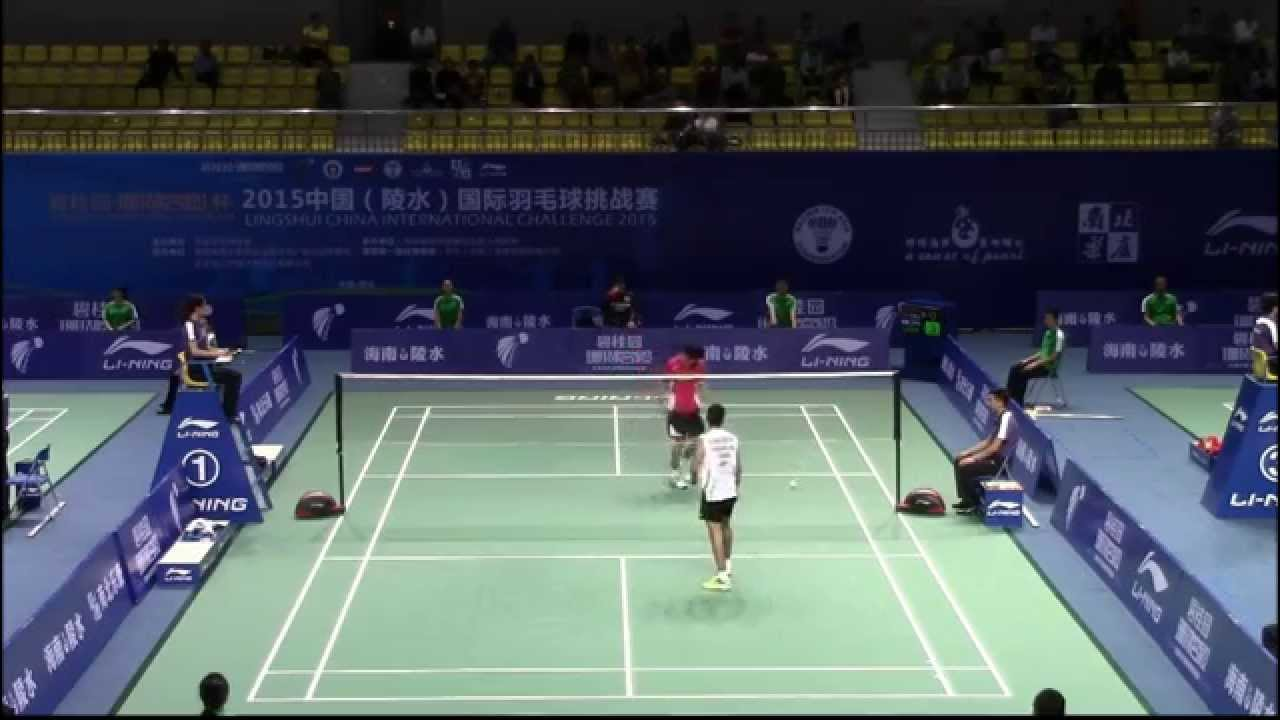 2015 China International Challange MS vs Yuki Kaneko [JPN]