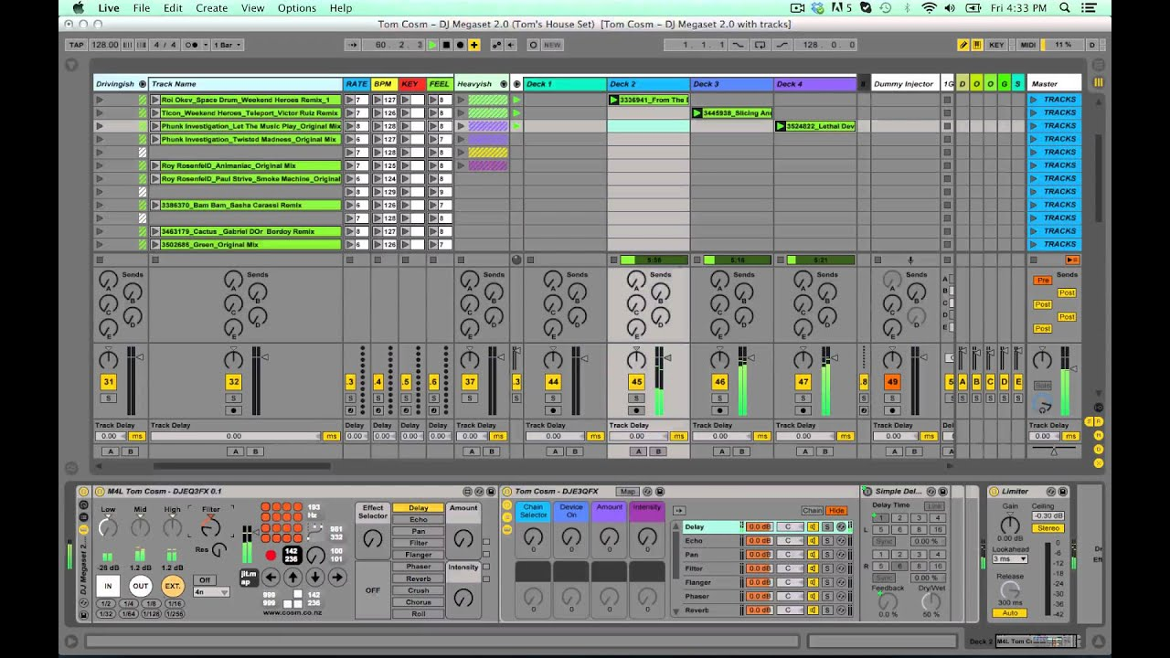 ableton dj template DJ Megaset 2.0 - Ableton Live Template for DJing and Mixing - YouTube