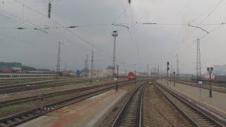 Поездка в электровозе \Красноярск - Заозерная\