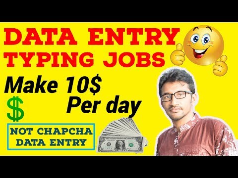 Earn 10 Per day| Best home base Typing Jobs at Home 2017[Bangla]