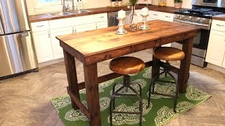 The $20 Kitchen Island   Easy Diy Project
