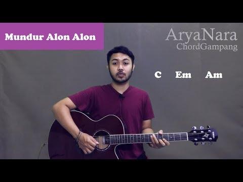 Chord Gampang Mundur Alon Alon Ilux Id By Arya Nara Tutorial Gitar Untuk Pemula