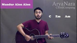 Download lagu Chord Gampang (Mundur Alon Alon - Ilux Id) by Arya Nara (Tutorial Gitar) Untuk Pemula