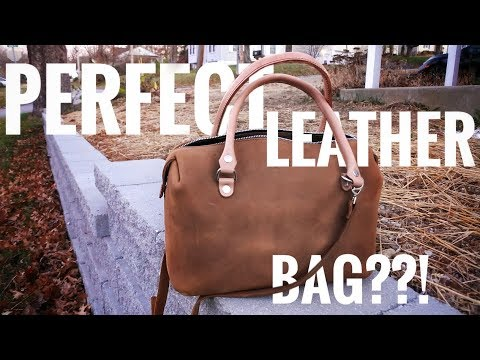 Best Leather Duffel - Love41 Large Duffel - Alternative to LV Speedy 30 and 35