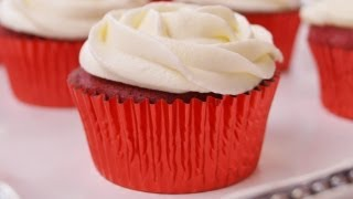 How To Make Red Velvet Cupcakes W/cream Cheese Frosting:red Velvet Cupcakes Recipe:di Kometa #33