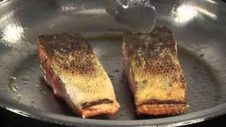 Honey Wine Glazed Salmon With Estancia Pinot Noir