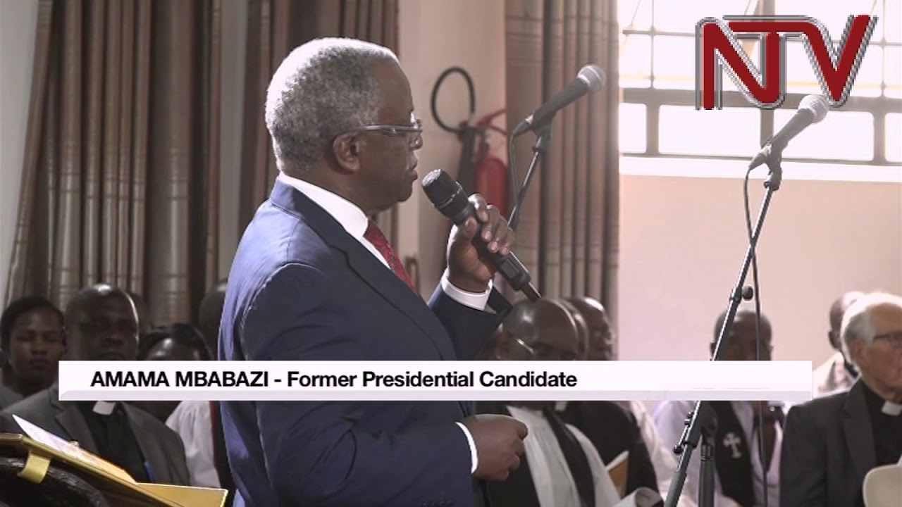 Leaders should accept to leave power - Amama Mbabazi