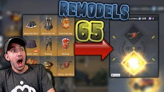 USING 65 REMODEL TICKETS IN RULES OF SURVIVAL!