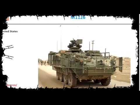 M1126 and BTR 90, 8x8 armored fighting vehicles performance comparison
