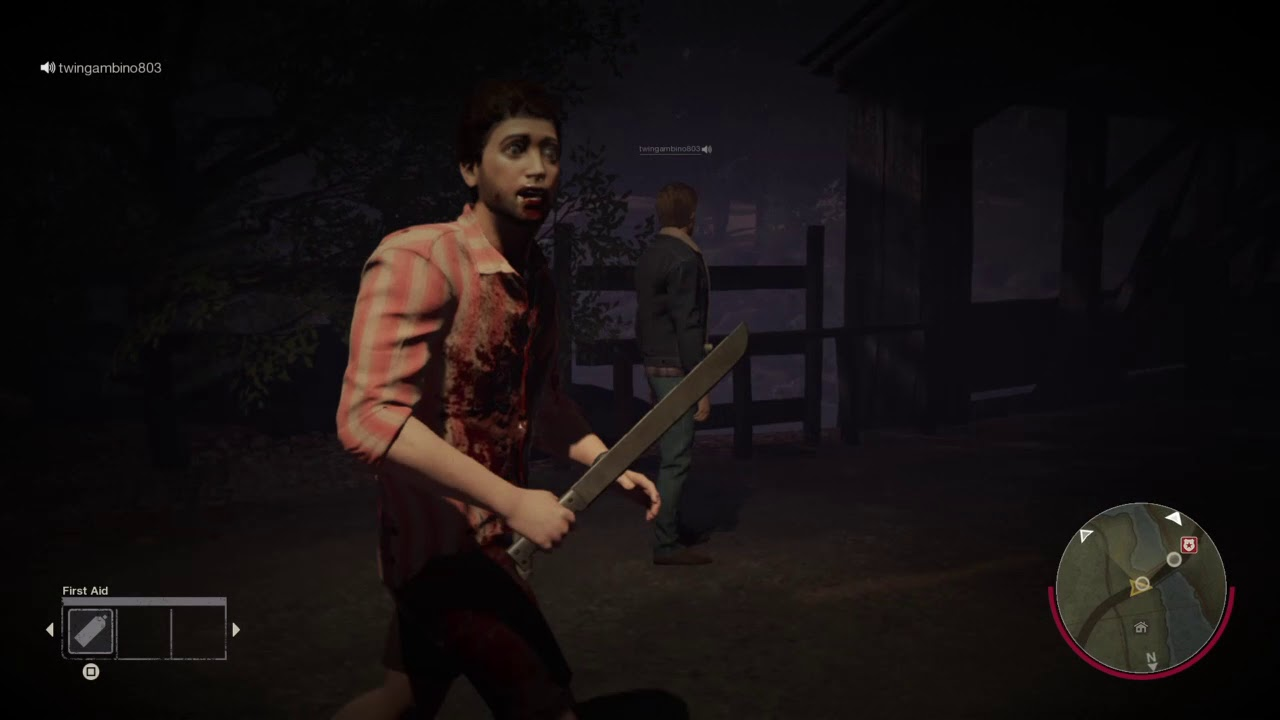 Friday the 13th Gameplay: Don't run mitch