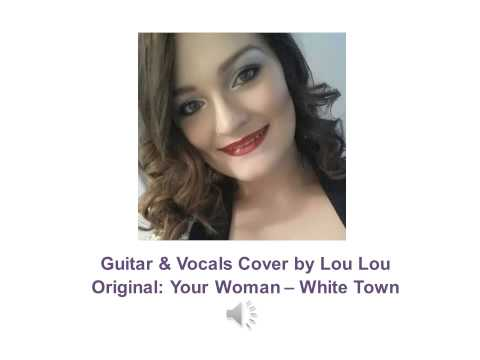 Singing single parent plays guitar live. Your Woman - White Town