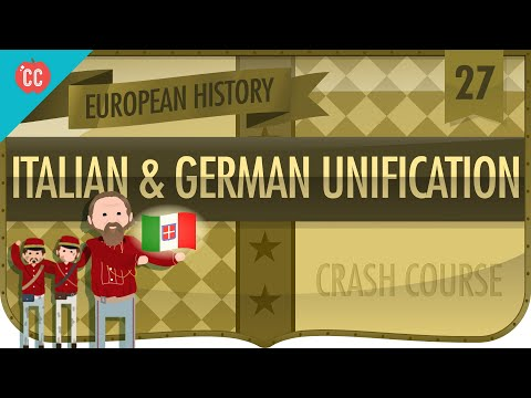 Italian And German Unification: Crash Course European History #27
