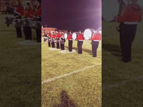 Wirt County High School Drumline Cadence 2016