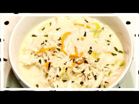 COOK WITH ME | CHICKEN AND RICE SOUP | CROCKPOT RECIPE