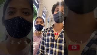 Main Yahaan Hoon❤️   Finally Meeting girlfriend in long distance   Whatsapp status   Sanjaydeepti  