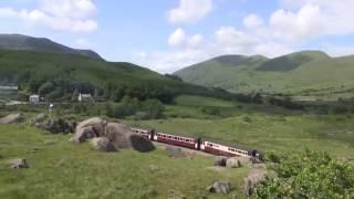 Steam of Welsh Highland Railway UK (Jun.2013) 1 イギリス ウェールズハイランド鉄道の蒸気機関車(2013年6月) 1