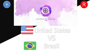 osu!mania 4K World Cup 2016 Finals - Loser Bracket - Match AE - United States vs Brazil