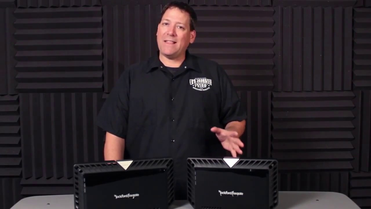 Rockford Fosgate: Power Amplifier Overview (3 3)